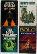 Books:Science Fiction & Fantasy, Keith Laumer. Four Putnam First Editions. Publisher's bindings and dust jackets. Some discoloration to the front flap and pa... (Total: 4 Items)