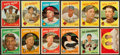 Baseball Cards:Sets, 1959 Topps Baseball Partial Set (259) With Stars & HoFers. ...