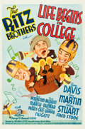 "Movie Posters:Comedy, Life Begins in College (20th Century Fox, 1937). One Sheet (27"" X41"").. ..."