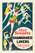"Movie Posters:Comedy, Shanghaied Lovers (Pathé, 1920s). Stock One Sheet (27"" X 41"").. ..."