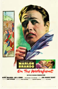 "On the Waterfront (Columbia, 1954). One Sheet (27"" X 41"")"