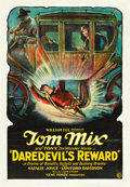 "Movie Posters:Western, Daredevil's Reward (Fox, 1928). One Sheet (27"" X 41"").. ..."