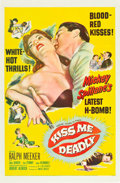 "Movie Posters:Film Noir, Kiss Me Deadly (United Artists, 1955). One Sheet (27"" X 41"").. ..."