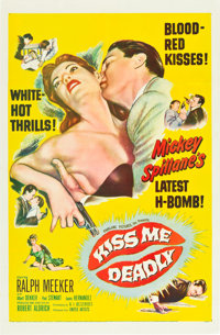 """Kiss Me Deadly (United Artists, 1955). One Sheet (27"""" X 41"""")"""