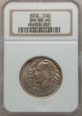 Commemorative Silver: , 1938 50C Arkansas MS64 NGC. NGC Census: (221/196). PCGS Population(298/291). Mintage: 3,156. Numismedia Wsl. Price for pro...