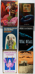 Books:Science Fiction & Fantasy, [Jack Vance, Ben Bova, Harry Harrison, et al.]. Six First Editions. Publisher's bindings and djs. All near fine or better. ... (Total: 6 Items)