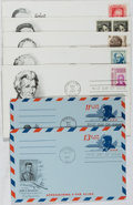 Books:Americana & American History, [First Day Covers]. Group of 7 Related to American Presidents.1965-1967. Includes Lincoln, Kennedy (2), Washington, Hoover,...