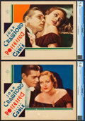 """Movie Posters:Drama, Possessed (MGM, 1931). CGC Graded Lobby Cards (2) (11"""" X 14"""").. ... (Total: 2 Items)"""