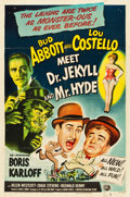 "Movie Posters:Comedy, Abbott and Costello Meet Dr. Jekyll and Mr. Hyde (Universal International, 1953). One Sheet (27"" X 41"").. ..."