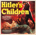 "Movie Posters:War, Hitler's Children (RKO, 1943). Six Sheet (81"" X 81"").. ..."