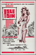 "Movie Posters:Adventure, Isle of Sin (Manson Distributing, 1962). One Sheet (27"" X 41"").Adventure.. ..."