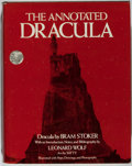 Books:Literature Pre-1900, Bram Stoker. Leonard Wolf, editor. The Annotated Dracula. Clarkson Potter, 1975. First edition. Publisher's bind...