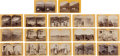 Photography:Stereo Cards, Stereoviews: 17 Geo. Wheeler 1874 Expedition to the Southwest, ... (Total: 17 Items)