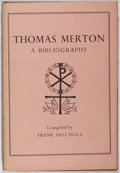 Books:Religion & Theology, Frank Dell'Isola. Thomas Merton. A Bibliography. Farrar, Straus and Cudahy, 1956. First edition, first printing....