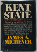 Books:Americana & American History, James A. Michener. Kent State. What Happened and Why.Random House, 1971. Stated first edition, but actually a b...