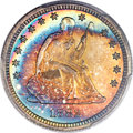 Proof Seated Quarters, 1882 25C PR66 PCGS. CAC....