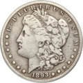 Morgan Dollars, 1893-S $1 Fine 12 PCGS....