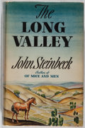 Books:Literature 1900-up, John Steinbeck. The Long Valley. Viking, September 1938.First edition, first printing. Publisher's binding and ...