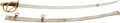 Edged Weapons:Swords, Very Fine US M1840 Heavy Cavalry Saber By Ames....