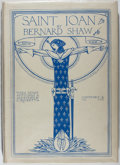 Books:Literature 1900-up, Bernard Shaw. LIMITED. Saint Joan. With Sketches by CharlesRicketts. Constable and Co., 1924. One of 750 copies...