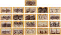 Photography:Stereo Cards, Stereoviews: 21 Geo. Wheeler 1871 Expedition to the Southwest,... (Total: 21 Items)
