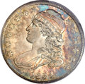 Bust Half Dollars, 1834 50C Large Date, Small Letters MS64 PCGS. CAC. O-108, R.2....