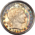 Barber Quarters, 1893 25C MS66 PCGS. CAC....