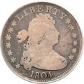Early Quarters, 1804 25C Good 4 PCGS. CAC. B-1, R.3....