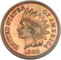 Proof Indian Cents, 1880 1C PR67 Red and Brown NGC....