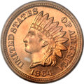 Proof Indian Cents, 1864 1C Copper Nickel PR65 Cameo PCGS....