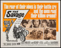"Movie Posters:Exploitation, The Savage Seven (American International, 1968). Half Sheet (22"" X28""). Exploitation.. ..."