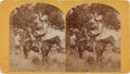 Photography:Stereo Cards, Albumen Stereoview: Custer Scout Bloody Knife Circa 1870....