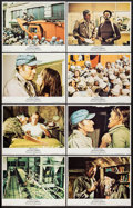 """Movie Posters:Science Fiction, Soylent Green (MGM, 1973). Lobby Card Set of 8 (11"""" X 14""""). Science Fiction.. ... (Total: 8 Items)"""