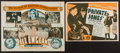 """Movie Posters:War, Private Jones and Other Lot (Universal, 1933). Herald (4.75"""" X 7"""")and Australian Herald (5.5"""" X 8.75""""). War.. ... (Total: 2 Items)"""