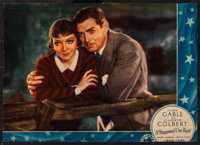 "It Happened One Night (Columbia, 1934). Jumbo Lobby Card (12"" X 17""). Academy Award Winners"
