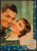 "Movie Posters:Academy Award Winners, It Happened One Night (Columbia, 1934). Jumbo Lobby Card (12"" X17""). Academy Award Winners.. ..."