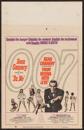 "Movie Posters:James Bond, Dr. No/From Russia with Love Combo (United Artists, R-1965). Window Card (14"" X 22""). James Bond.. ..."