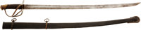 "For Both Form And Condition One Of The Finest Confederate ""Dog River' Cavalry Sabers We've Ever Seen"