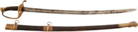 Very Fine Leech And Rigdon, Memphis Novelty Works, Confederate Mounted Staff Officer's Saber With CS Pierced in Gu