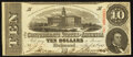 Confederate Notes:1863 Issues, T59 $10 1863 PF-11 Cr. 249.. ...