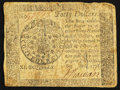 Colonial Notes:Continental Congress Issues, Continental Currency September 26, 1778 $40 Very Fine.. ...