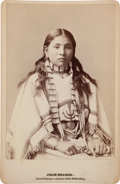Photography:Cabinet Photos, Julie Nelson: Wild West Show Performer....