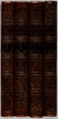 Books:Literature Pre-1900, [Edward Young]. The Works of the Author of the Night-Thoughts. In Four Volumes. A. Millar, et al., 1767. Revised... (Total: 4 Items)