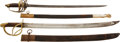 Edged Weapons:Swords, Pair of 19th Century Mexican Swords.... (Total: 2 Items)