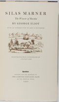 Books:Fine Press & Book Arts, George Eliot. Silas Marner. The Weaver of Raveloe.Illustrated with Lithos by Lynton Lamb. London: Limited Editi...