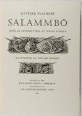 Books:Fine Press & Book Arts, [Limited Editions Club]. Gustave Flaubert. SIGNED / LIMITED.Salammbo. Illustrated by Edward Bawden. Cambridge U...