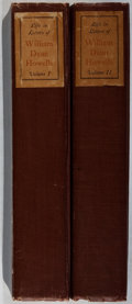 Books:Literature 1900-up, [William Dean Howells]. Life in Letters of William DeanHowells. Edited by Mildred Howells. Doubleday, Doran, 19...(Total: 2 Items)