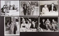 Behind the Scenes, On the Town, and Directors Photo Lot (Various, 1933-1932). Autographed Photo (1) and Photos (9) (8&qu...