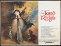 """Movie Posters:Animation, The Lord of the Rings (United Artists, 1978). Subway (45"""" X 59.5"""")Advance. Animation.. ..."""