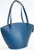 Luxury Accessories:Bags, Louis Vuitton Blue Epi Leather St. Jacques GM Tote Bag. ...